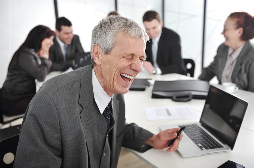 Lachtraining in Firmen